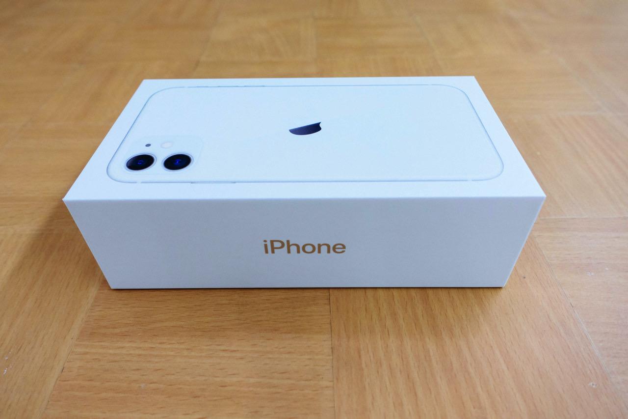 iPhone・iPadの外箱のラベルでIMEI番号を調べる