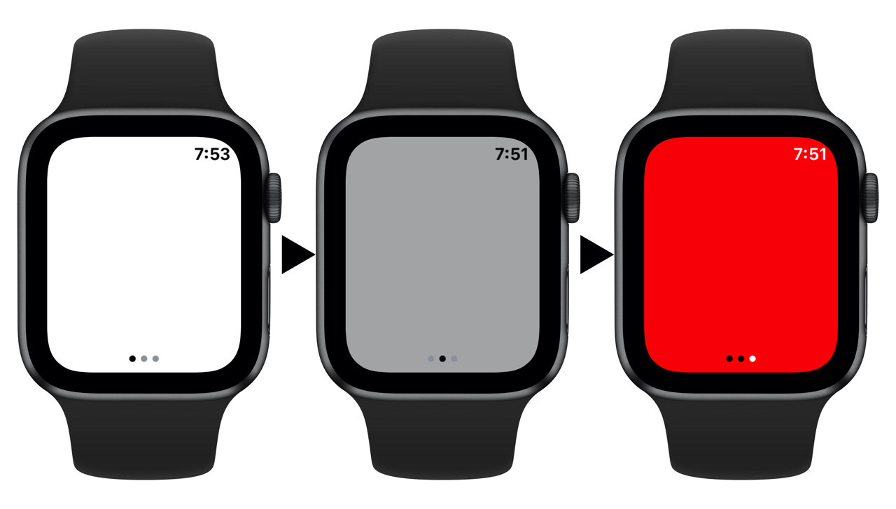 Apple watch flashlight2