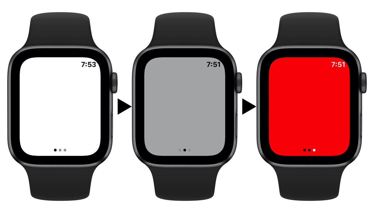 Apple watch flashlight2