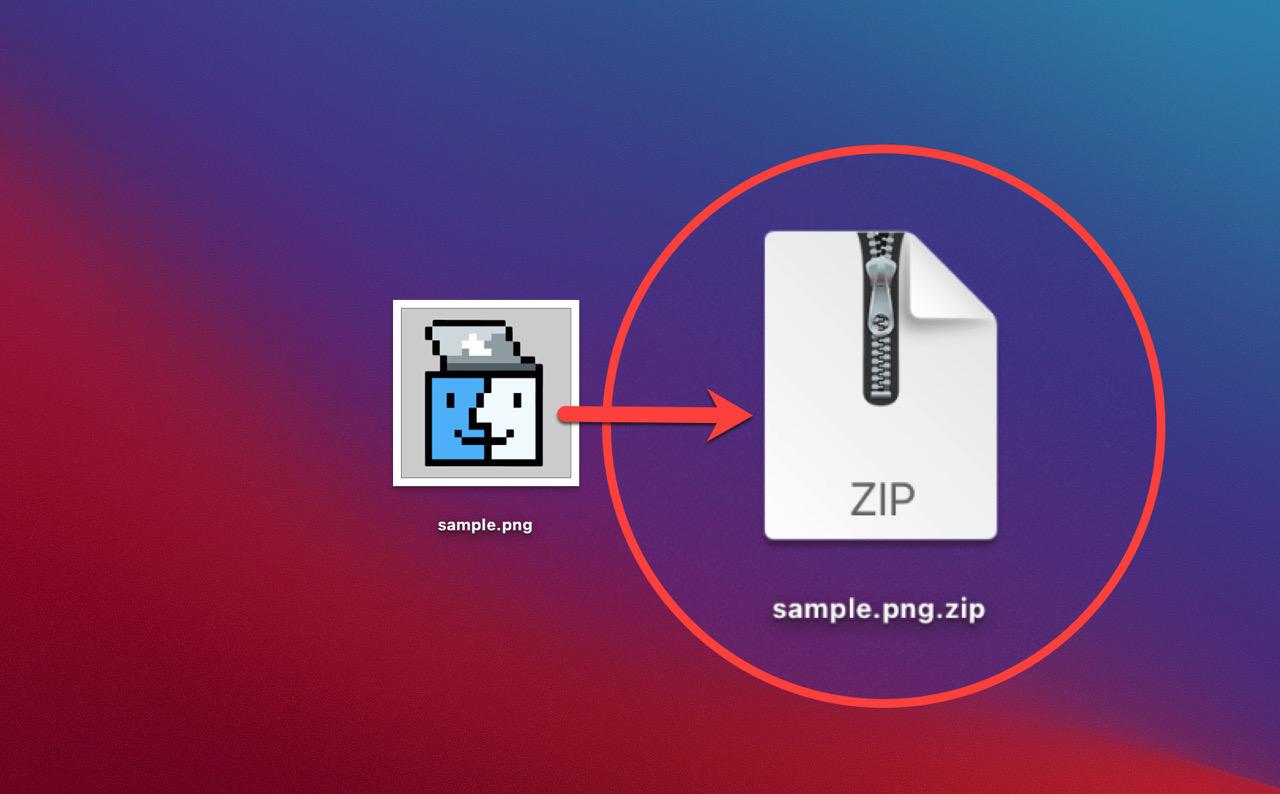 文字化けしない圧縮ファイルを作成